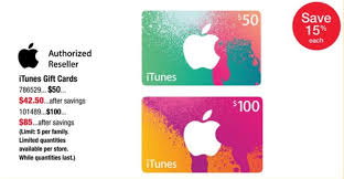 gift card reseller itunes card deals on save 15 on 50 100 itunes gift