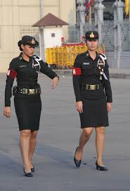 thai military police vroue soldate female soldiers pinterest