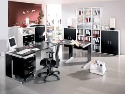 Black Home Office Furniture Furniture Modern Home Office Furniture Pods With L Shaped Table