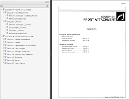 hitachi ex220 2 u0026 ex220 3 technical workshop manuals pdf repair