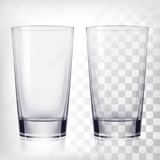 cartoon beer no background empty drinking glass cups transparent glass on transparent