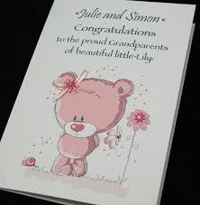 large handmade personalised congratulations card proud