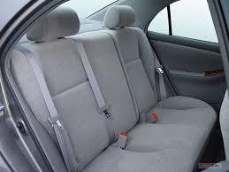 toyota corolla seats 2007 toyota corolla interior u s report