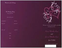 vistaprint wedding programs vista print programs not big enough weddings planning