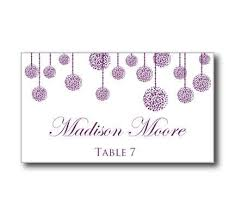 printable wedding place card template