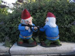 Lawn Gnome by Combat Garden Gnome Dudeiwantthat Com