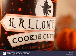 halloween cookie cutters stock photo royalty free image 17913894