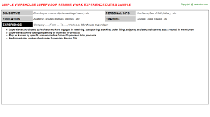 Resume Sample Warehouse Worker by Bunch Ideas Of Sample Resume Warehouse Skills List On Sample
