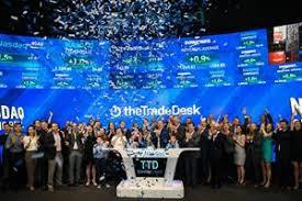 the trade desk ipo nasdaq welcomes the trade desk inc nasdaq ttd to the nasdaq