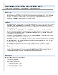 The Best Resume Examples For A Job by Landing The Perfect Place Using A Rental Resume Pearlman Real