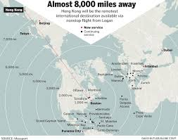 Punta Cana On Map Of World by Logan Adding Direct Flight To Hong Kong The Boston Globe