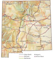 Albuquerque New Mexico Map by Transportation U2014 Dreaming New Mexico