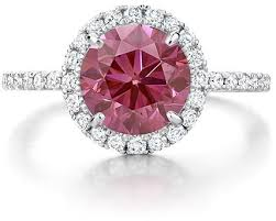 colored engagement rings pink engagement rings brilliant earth