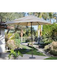 8 Ft Patio Umbrella Deals 22 Coral Coast 8 X 11 Ft Rectangular