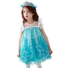 aliexpress com buy 2017 summer fashion elsa anna dress