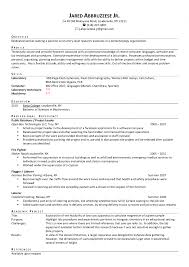 Example Of Resume Skills And Qualifications by Systems Analyst Resume Example Coverletters For System Analyst