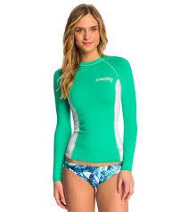 o u0027neill women u0027s skins long sleeve crew rashguard at swimoutlet com