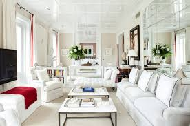 Narrow Leather Sofa Living Room Fascinating Cleanly White Narrow Living Room