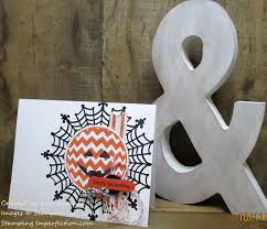 happy halloween card printable supply list stamping imperfection