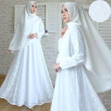 wedding dress syari rumah gamis rumahgamis
