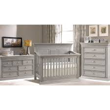 Vintage Nursery Furniture Sets Baby Chic Venice 4 In 1 Convertible Crib In Vintage Grey Gender