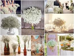 de Lovely Affair Baby s Breath Wedding Decor Small Flower Big