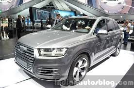 Audi Q7 Night Black - audi e tron quattro q6 concept unveiled at vag night