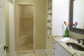 small bathroom with walk in shower gnscl