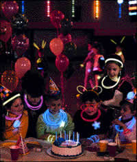 glow in the birthday party glow in the birthday party glow in the party