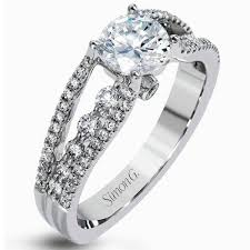 style wedding rings images Simon g contemporary cathedral tension set diamond engagement ring jpg