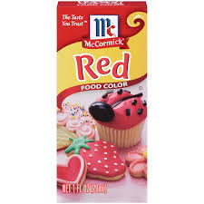 amazon com mccormick red food color 1 fl oz food coloring