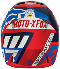 fox helmet motocross fox v3 divizion helmets motocross blue yellow fox spiral pullover