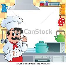 cadre cuisine 1 thème cadre cuisine illustration cadre 1 thème