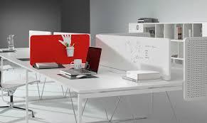 séparateur de bureau sur plan en bois modulable k2 by