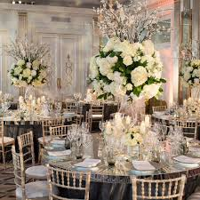 interesting wedding table setting ideas golden wedding table
