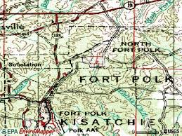 louisiana map fort polk fort polk louisiana la profile population maps real