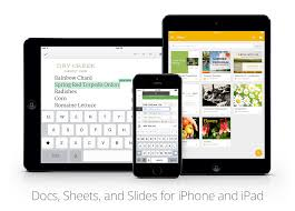 Ipad Spreadsheet Google Drive Blog Your Iphone U0026 Ipad Are Ready To Get To Work