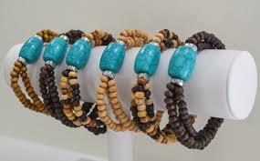 turquoise bead bracelet images Turquoise bead bracelet set four seasons accessories jpg