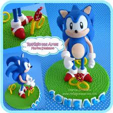 sonic cake topper sonic topo de bolo sonic cake topper mais peças em www