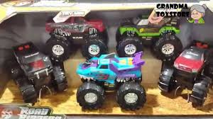 monster trucks toys unboxing toys review demos road rippers monster trucks raminator