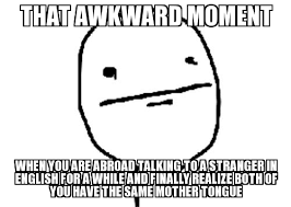 Poker Face Memes - poker face that awkward moment when you are abroad talking to a