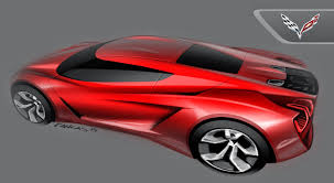 corvette c8 concept kangas design product car sketch and car