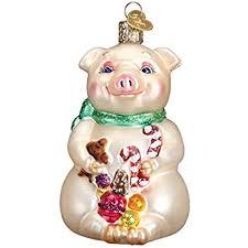 amazon com kurt adler flying pig christmas ornament home u0026 kitchen