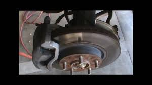 replacing brake pads and checking rotors youtube