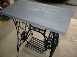 Singer Sewing Machine Cabinets by Singer Sewing Machine Cabinet Makeover To Hall Table Hometalk