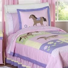 Pony Comforter Sweet Jojo Designs Pony Horse Toddler 5 Piece Comforter Set