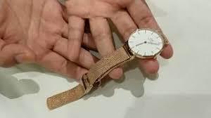 Beda Jam Tangan Daniel Wellington Asli Dan Palsu unboxing jam tangan daniel wellington dapper batyoutube