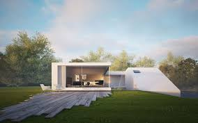 contemporary addition to small fishermens village the cube house
