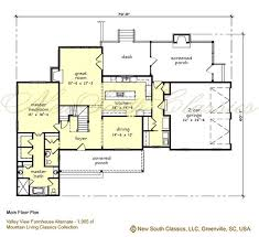 farmhouse plan south classics valley view farmhouse
