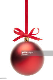 ornaments with ribbon stock photo getty images